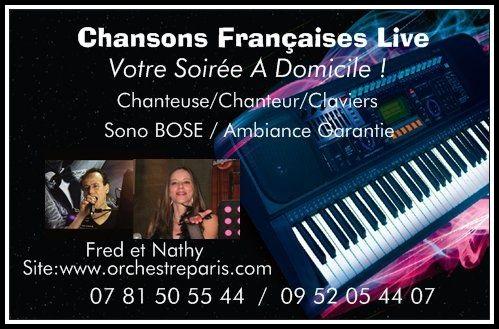Vous Cherchez Un Chanteur Une Chanteuse Duo Fred Et Nathy